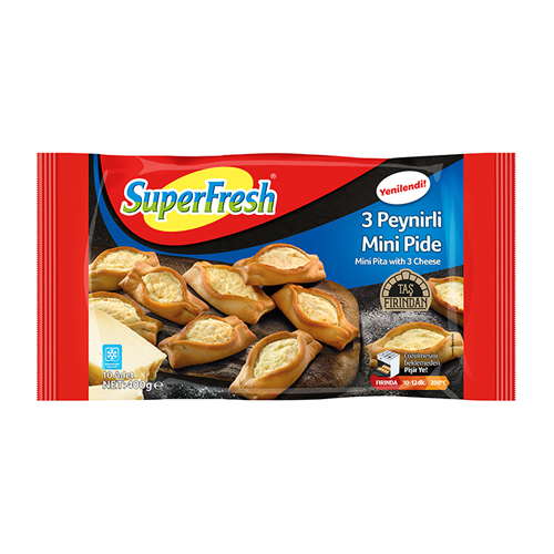 SuperFresh 3 Peynirli Mini Pide