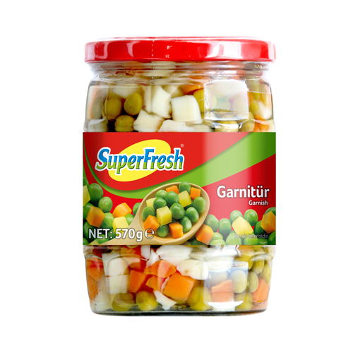 SuperFresh Garnitür Cam