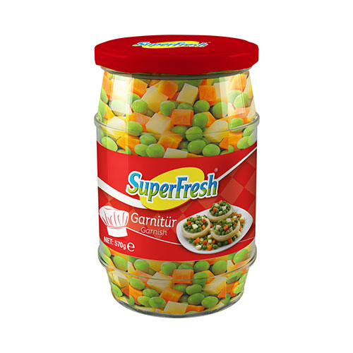 SuperFresh Garnitür Konserve