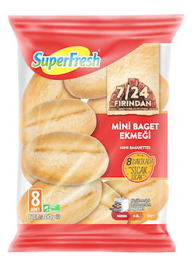 SuperFresh Mini Baget Ekmeği